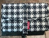 (Ad)eBay – Reisenthel Travel Makeup Bag 10 x 8 Houndstooth Print Excellent Condi…