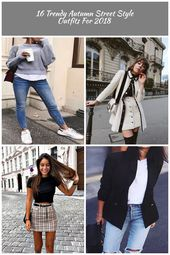 Street style outfits! #autumn #London #ideas #2018 fashion outfits 16 Trendy Aut…