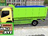 Mod Bussid Truck Canter Dump Hijau 1