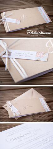 Hallo Mäuse, hier ist eine unserer schönsten Hochzeitseinladungen … – #eine …