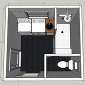 Small laundry room / bathroom floor plan idea…. i do not like laundry room bat…