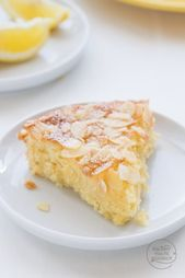 Photo of Juicy lemon and almond cake without flour Baking makes you happy …