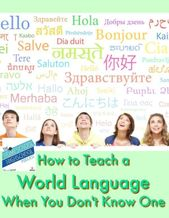 Homeschool Highschool Podcast Ep 101: The best way to Educate a World Language