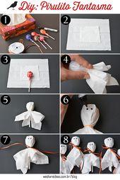 DIY:Pirulito de Fantasma