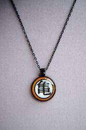 Goku Necklace — Dragon Ball Z — Kakarot — Dragon Ball Super — Handmade  – Products