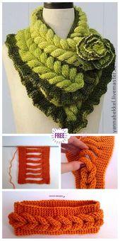 Knit Faux Braid Headband Free Knitting Pattern – Video