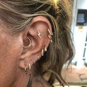 Daith-Piercings werden immer beliebter, deshalb haben wir Maria Tash-Piercer Pet…