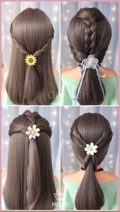 Four Different Ponytail Hairstyles This Image Has Get 0 Repins