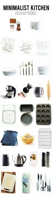 Minimalist Kitchen Essentials A top-to-bottom look…