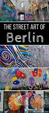 Berliner Street Art Tour. Berlin ist unabhängig, kieselig und hat viele Geschic… – Berlin