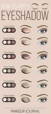 Augen Make-up ist ein wichtiger Bestandteil Ihres makellosen Aussehens. Also, bevor du gehst   – Make up