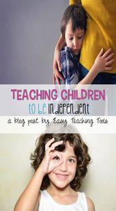 Kindern beibringen, unabhängig zu sein – Classroom Management, Organization, and Decor