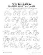 Kostenlose Kalligraphie-Alphabete – Handschrift – #Alphabete #Kalligraphie #Kostenlos #H …