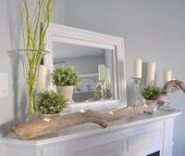 Gorgeous Spring Mantels {decorate coat