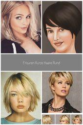 #bilderx #Frisuren #Gesicht #haare #kurze #rundes –  –