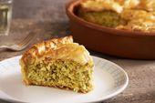 Zucchini Pie mit Joghurt und frischer Minze Das Gewirr von Zucchini, das in … – Recipes to Cook