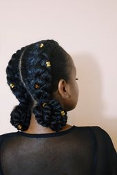 Afro hair: 28 hairstyle ideas to protect them from the cold #frisurenflechten