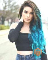 50 Fun Blue Hair Ideas we – #Blue #Fun #Hair #ideas