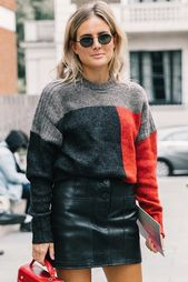 64 of the Greatest Colorblock Sweaters for Fall and Winter (Le Trend)