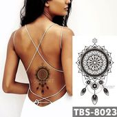 12x19cm wasserdicht temporäre Tattoos Dreamcatcher Flash Tattoo Aufkleber Brust …,  #12x19c… – DIY Tattoo Vorübergehend Blog