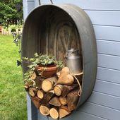 Meine alten Zinkbadewannen – Pflanzenideen – Wintergarten Ideen – Kleiner Garten