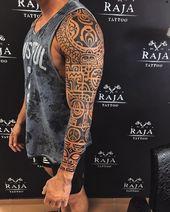 ⚫️ Armmanschette ist endlich fertig ✅ #maori #maor … – #Arm #finally #homme #maor