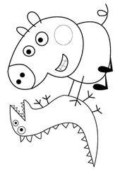 Top 15 Peppa Pig Malvorlagen Fur Ihre Kleinen Kleinen Malvorlagen Peppa Kinder Basteln Und Malen Malvorlagen Kinderfarben