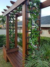 Front Yard Landscaping Ideas on a Budget – Die Kombination aus erlesenen Pflanzen  – Garten Dekoration Ideen