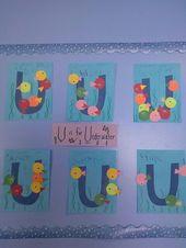 Letter of the week U ,  #Letter #lettercraftspreschooltoddlers #Week