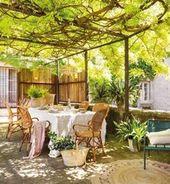 Crea tu terraza de exterior para disfrutar del verano – Muero de amor por la dec…