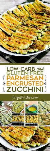 Low-Carb and Gluten-Free Parmesan Encrusted Zucchi…