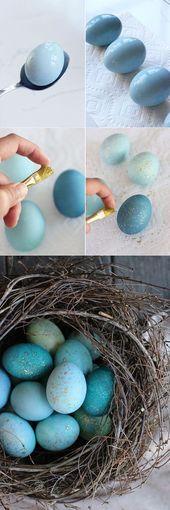 DIY Deko Ideen, mit denen Sie den Frühling nach Hause holen – Ostern
