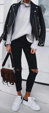 30+ elegante Winter-Outfits für diese Saison | Beste Haar Modelle #womensfashio… – Outfit Goals
