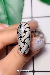 10 Pretty & Amazing Nail Art Trends In 2019 – Nails Design Tutorials Videos | Part 6