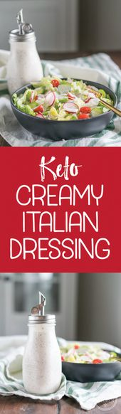 Keto Creamy Italian Dressing & Dip