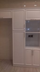 مطبخ صاج ابيض مطفى Kitchen Kitchen Cabinets Decor