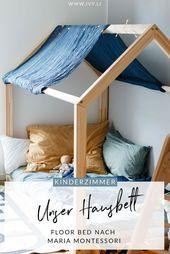 Lit de la maison pour les enfants   – Kinderzimmer Betten