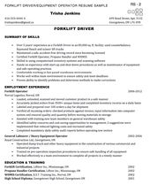 Machine Operator Resume Writing Tips And Example