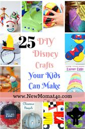 25 Awesome Disney Crafts Your Kids Will Want to Make