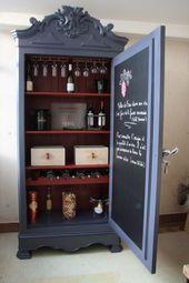 Kabinett umgewandelt, um Kellerartikel und Weinfla…