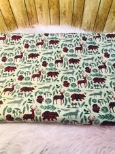 Personalized Baby Blanket Wildlife, Personalized Baby Blanket, Minky Baby Blanket …   – Products