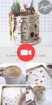 Dans notre tutoriel Birch Tree Cake, vous apprendrez à utiliser ce spectacle avec …… – Idées de Gâteaux
