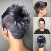 100+ Kurzhaarfrisuren für feines Haar – Beste Kurzhaarschnitte für feines Haar 2020