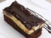 Bananen-Schokoladen-Blatt-Kuchen – Kuchen – #banansChocolate leaf cake #co …   – Torten Ideen
