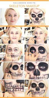 17 Inspirierende Ideen zum Halloween-Makeup