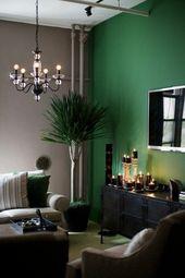 Wandfarbe Grün und seine nützlichen Designerinterpretationen   – Dekoideen ♡ Wohnklamotte