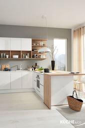 Küche Midsommar in Weiß
