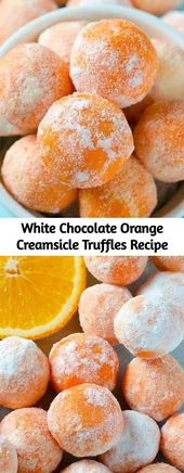 White Chocolate Orange Creamsicle Truffles Recipe – Mom Secret Ingredients