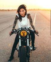 💋🚴♀Mädchen, das auf der Suche nach einem Motorradabenteuer ist? #Click Wholesa …   – Adventure Girl