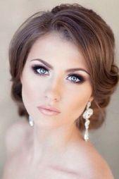 42 Wunderschönes Hochzeitsmake-up für den großen Tag - #sieht #prächtig aus #Make-up #Hochzeit - #neu